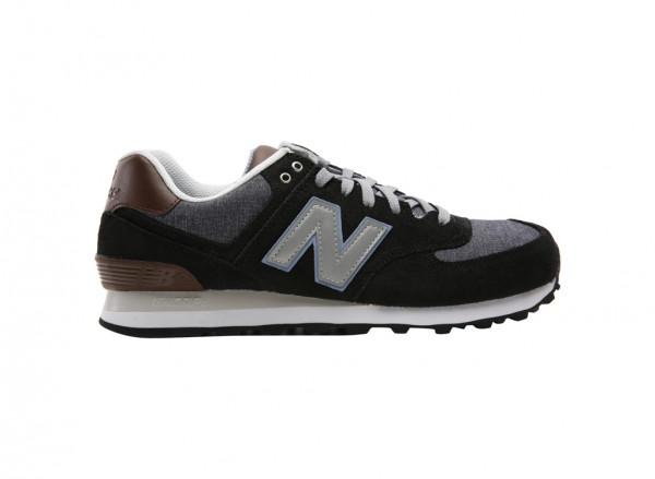 574 Black Sneakers And Athletics-ML574BCB