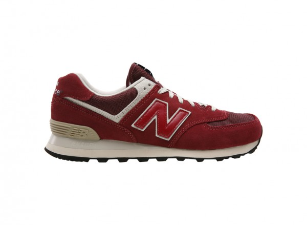 574 Red Sneakers And Athletics-ML574FBR