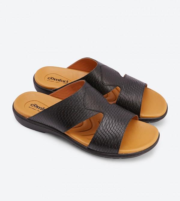 Sandals Black Round Black Arabic Toe Round Toe Arabic Round Toe Sandals Arabic lFcK1J