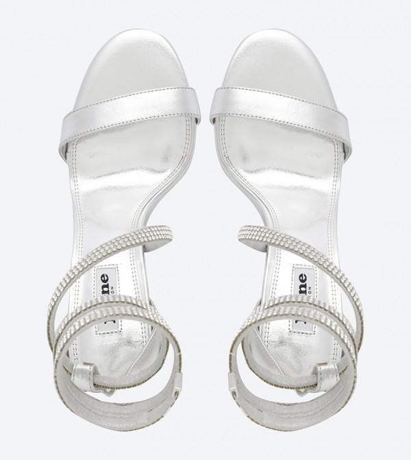 Snake Dressy Sandals Diamante Silver Mylie 3LqA54jR