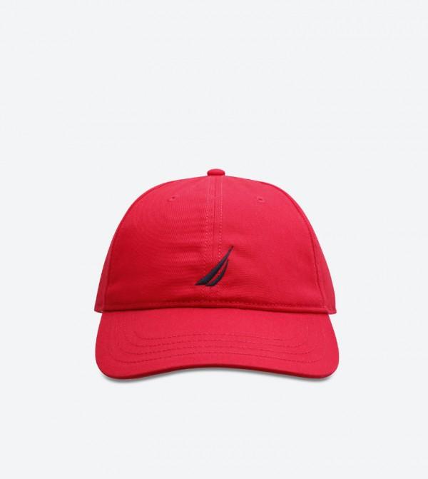 Anchor J Class 6 Panel Baseball Cap - Red N H71055 995703995e57
