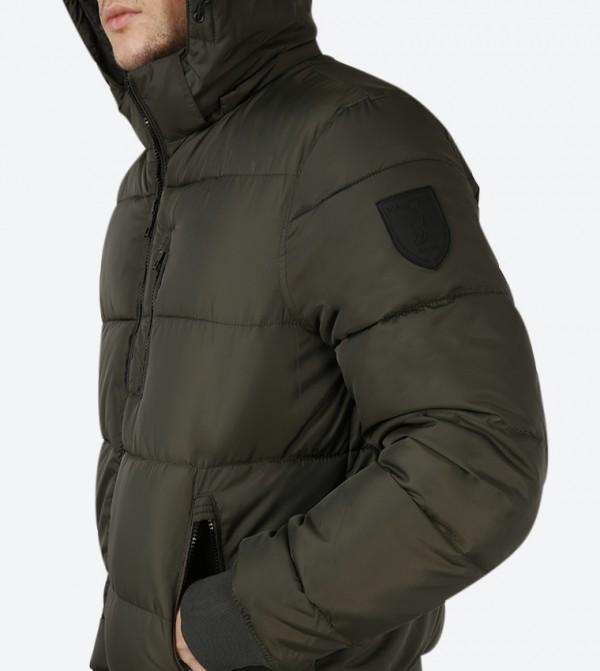 67ba27d82d5 Puffer Jacket - Green
