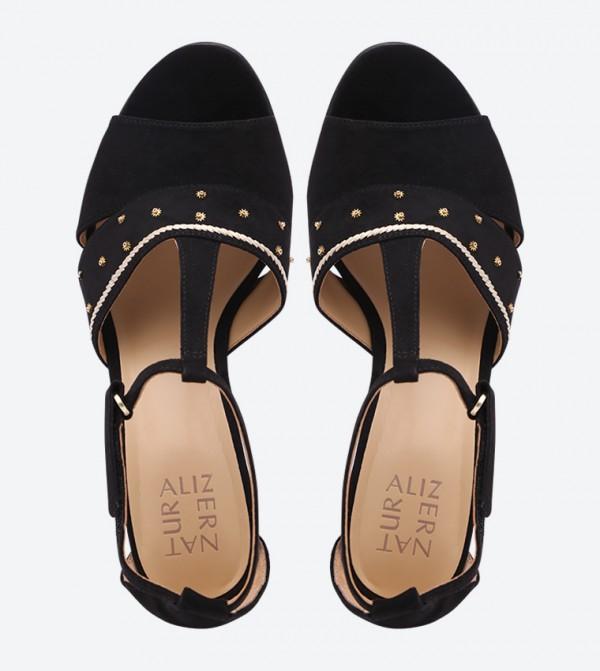 2e8100ace47 Bali Ankle Strap Sandals - Black NABALI