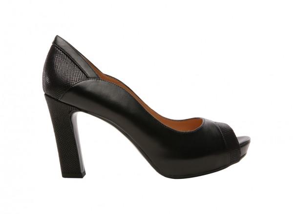 Bekah Black High Heel