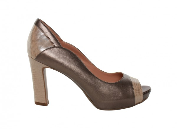 Bekah Taupe High Heel