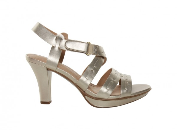 Dade Metallic High Heel