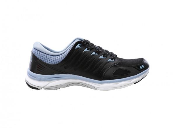 Flora Black Sneakers & Athletics