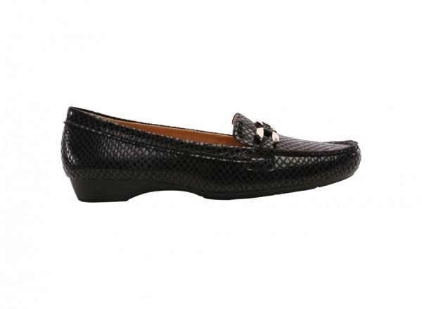 Gasla Black Sandals