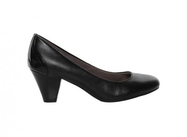 Garcia Black Mid Heel