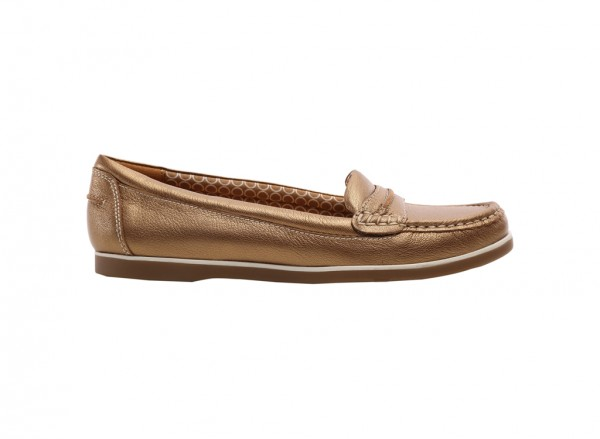 Hamilton Gold Loafers