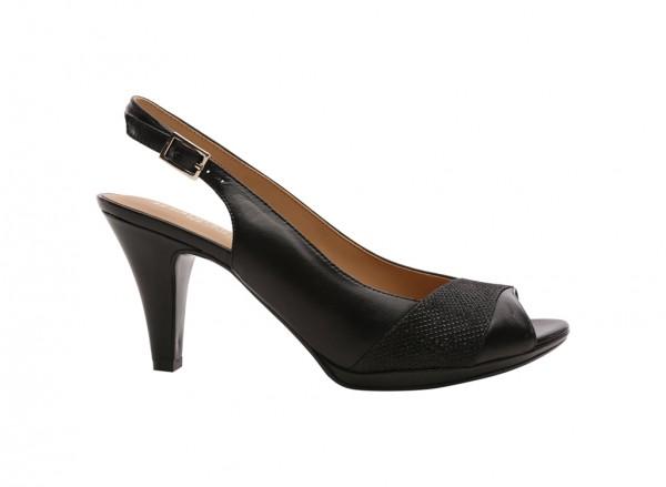 Indeed Black Sandals