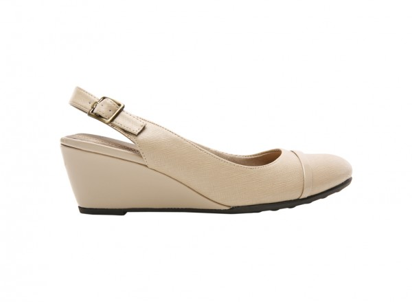 Judge Taupe Wedge