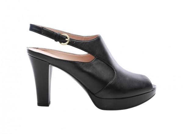 Kimber Black Mid Heel