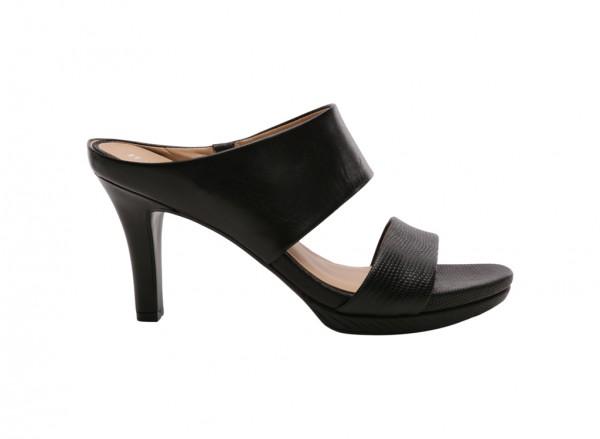 Natali Black Sandals