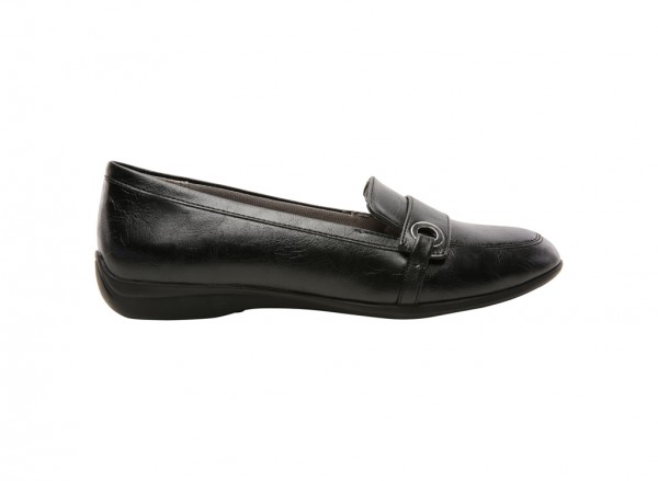 Pattie Black Loafers