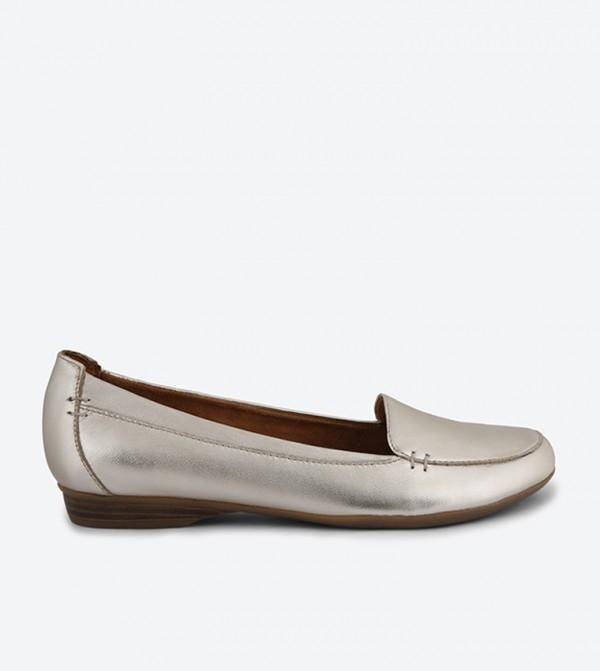 6854dd9270a Naturalizer Saban Loafers - Gold