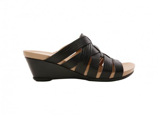 Shelby Black Wedges