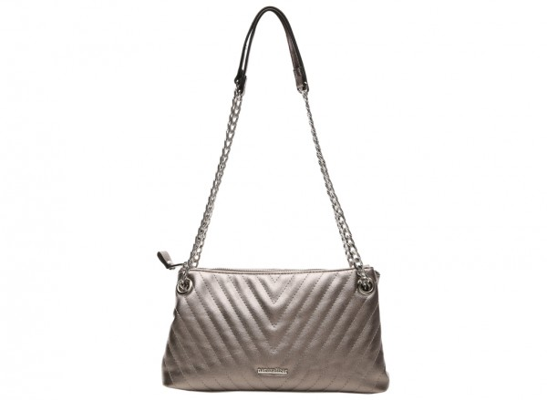 Gabrielle Pewter Shoulder Bags & Totes