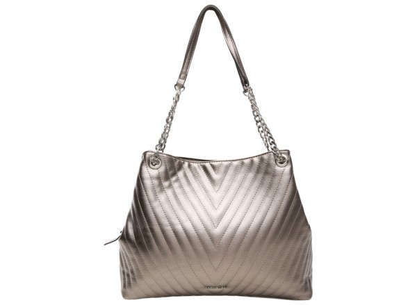 Ingrid Pewter Shoulder Bags & Totes