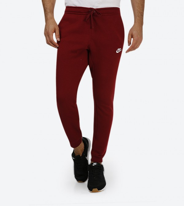 huge selection of d0362 9707a Nike Club Fleece Jogger Pants - Red