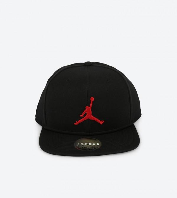 158a66ebc35 Home  Jordan Jumpman Snapback Hat - Black. NIKE861452-015-BLACK-RED