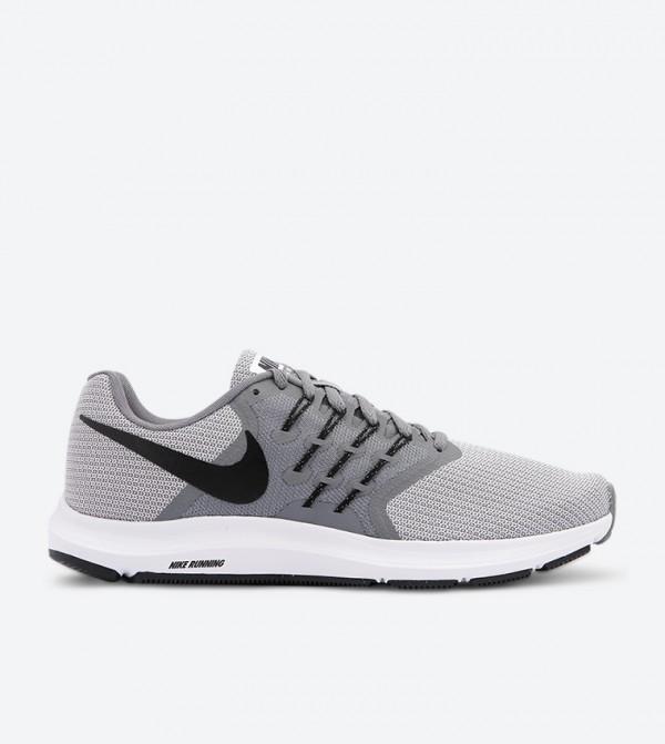 590366eadbbef Nike Run Swift Lace Up Closure Running Shoes - Grey NK908989-002