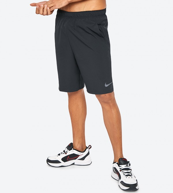 87daddd38345 Nike Flex Woven 2.0 Low-Rise Shorts - Black