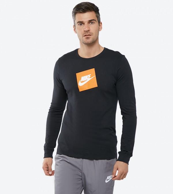 a656bfa5 Home; Long Sleeve Futura Box T-Shirt - Black NKAJ3873-010. NKAJ3873-010- BLACK