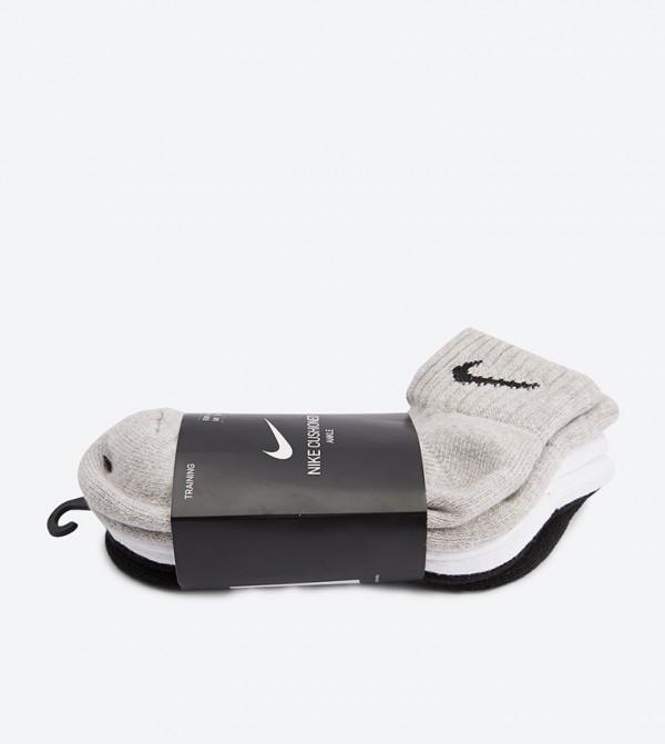 Socks3 PcsMulti Quarter Elastic Mouth Cush PXZkiu
