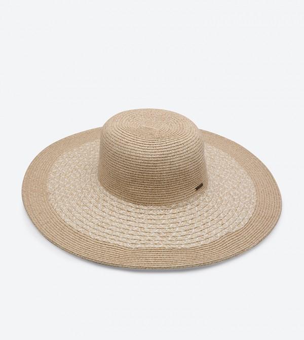 89840a4f1223d2 Nine West Packable Super Floppy Hat - Beige