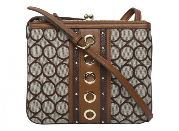 Jaya Brown Cross Body Bag