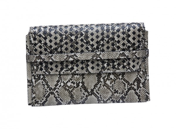 Nine West Collection Clutches Handbag For Women - Man Made Black-NW60413288-MULTI