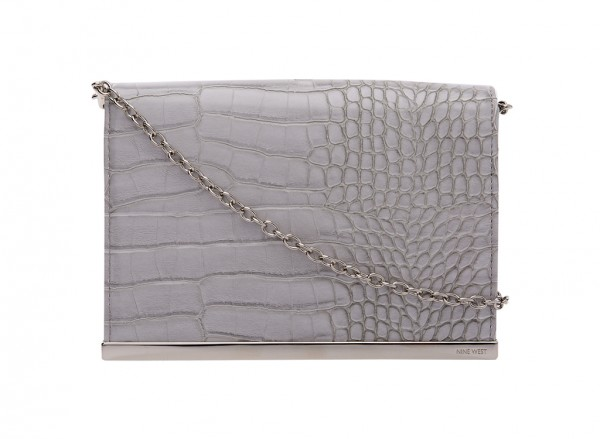 Nine West Divide And Conquer S Handbag Clutch Wallet Md For Women - Man Made Grey