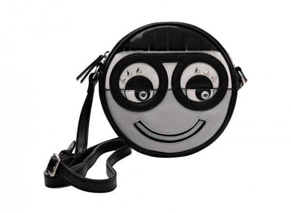 Nine West Eye To Eye Handbag Cross Body Sm For Women - Man Made Grey