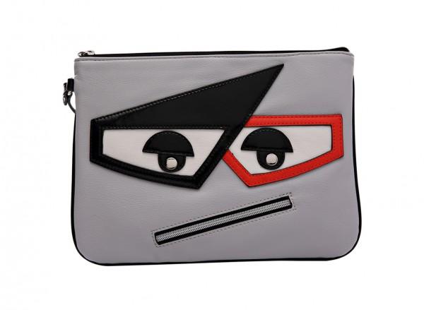 Nine West Eye To Eye Slg Handbag Essential Zip Mz For Women - Man Made Grey
