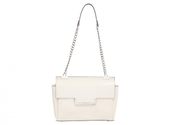 Nine West Strictly Ballroom Handbag Shoulder Bag Md For Women - Man Made White