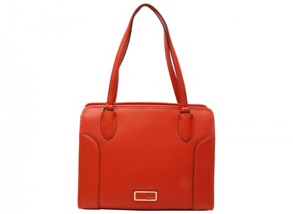 Suit R Carr Red Satchels & Handheld Bags