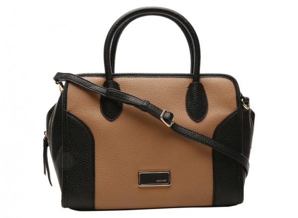 Suit R Satch Brown Satchels & Handheld Bags
