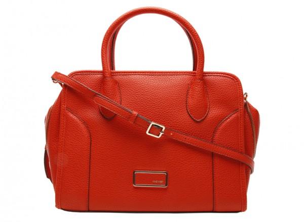 Suit R Satch Red Satchels & Handheld Bags