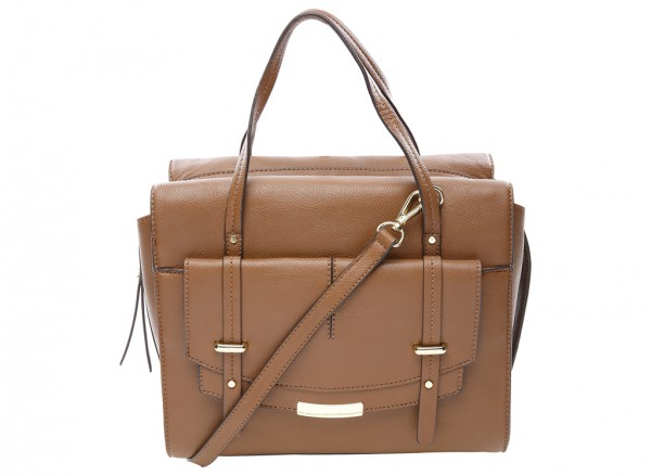Nine West Tipping Point Handbag For Women - Man Made Brown-NW60414404-BROWN