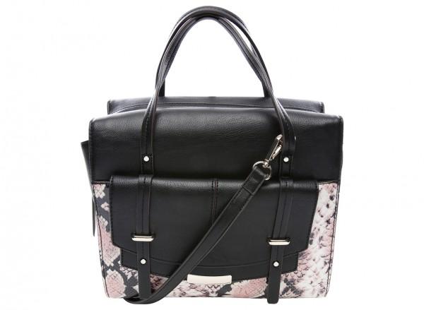 Nine West Tipping Point Handbag For Women - Man Made Black-NW60414404-MULTI