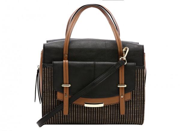 Nine West Tipping Point Handbag Satchel Md For Women - Man Made