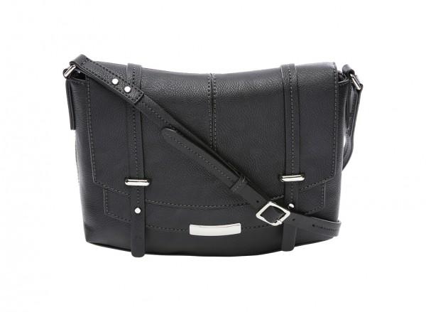 Nine West Tipping Point Handbag For Women - Man Made Black-NW60414413-BLACK