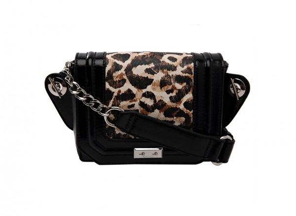 Nine West Internal Affairs Handbag Belt Bag Sm For Women - Man Made Black-NW60414742-BEIGE