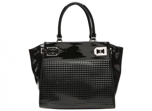Gleam Team Black Satchels & Handheld Bags