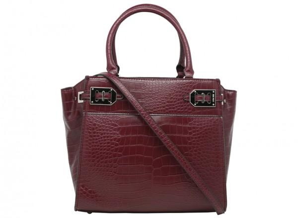 Gleam Team Maroon Satchels & Handheld Bags-NW60420033