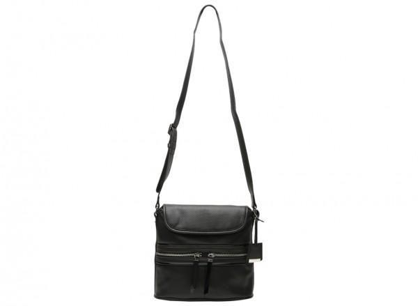 Hot Mesh Black Cross Body Bag