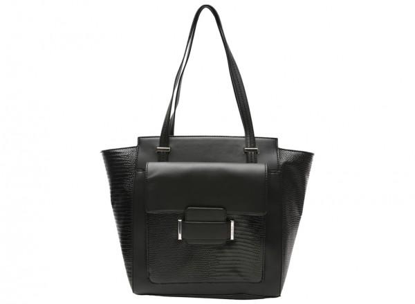 Out Of Pocket Black Shoulder Bags & Totes