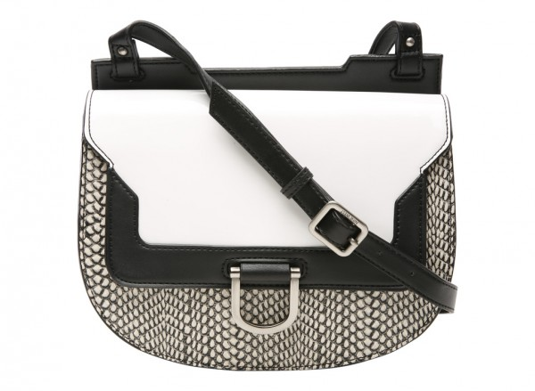 Night Shift White Cross Body Bag