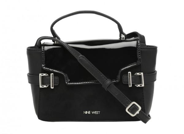 Clean Living Black Satchels & Handheld Bags-NW60430819